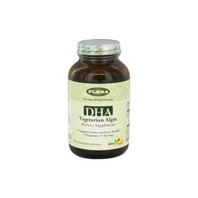 Flora - DHA Vegetarian Algae - 60 Vegetarian Softgels