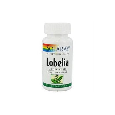 Solaray Lobelia 50MG - 100 Capsules - Detox Products