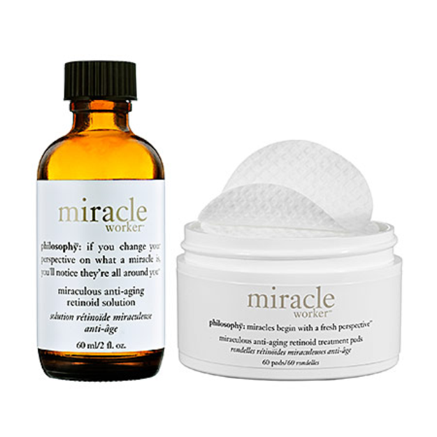 philosophy miracle worker anti-aging pads