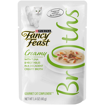 Fancy Feast® Wet Cat Food With Tuna & Vegetables In A Decadent Creamy Broth