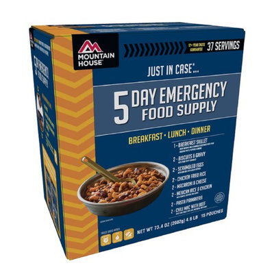 Mountain House Just In Case 5 Day Emergency Food Supply