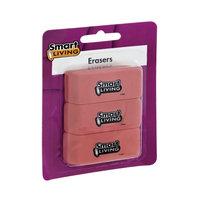 Smart Living Erasers - 3 CT