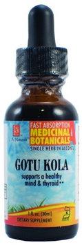 Gotu Kola Organic, 1 oz, L.A. Naturals