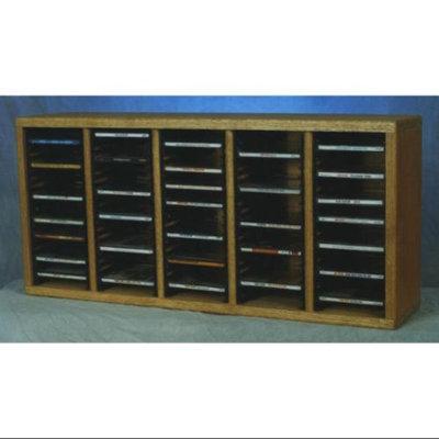 Wood Shed Solid Oak desktop CD Storage (Unfinished)
