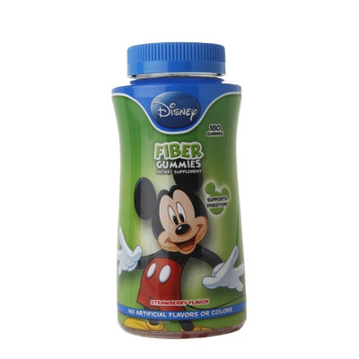 Disney Fiber Dietary Supplement Gummies - 180 Count