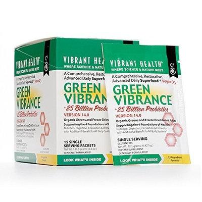 Vibrant Health Green Vibrance, 15 Single Serving Packets