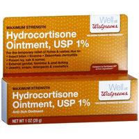 Walgreens Hydrocortisone 1% Anti-Itch Ointment