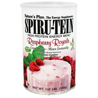 Nature's Plus Spiru-Tein Shake Raspberry Royale - 1.1 lbs