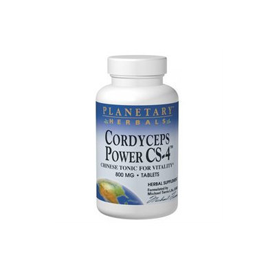 Planetary Formulations Cordyceps Power Cs-4 800 MG - 120 Tablets - Other Herbs