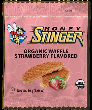 Honey Stinger Organic Waffle Strawberry Flavored