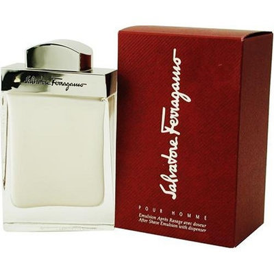 Salvatore Ferragamo By Salvatore Ferragamo For Men. Aftershave Balm 1.7 Ounces