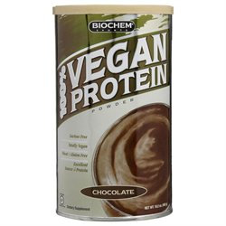 Biochem Sports 100% Vegan Protein Powder, 16.2 oz
