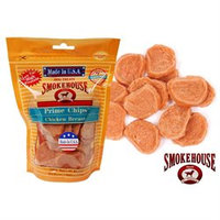 Smokehouse Brand Dog Treat Chicken Chips Small 4oz Bag