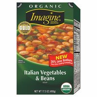 Imagine Organic Italian Vegetables & Beans Soup