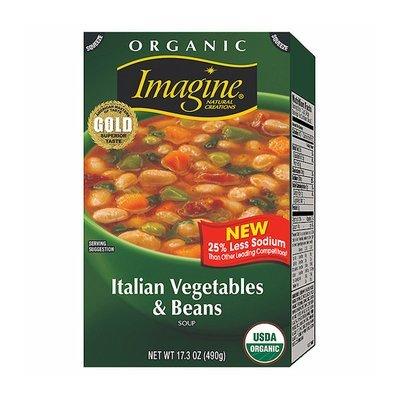 Imagine Organic Italian Vegetables & Beans Soup