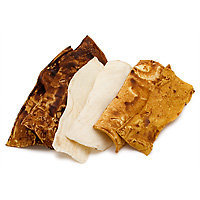 Petco Assorted Rawhide Strips (8 oz.; Assorted; Assorted)
