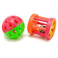 Small Animal Kingdom Ferret Fun Ball & Wagon Wheel (1.5