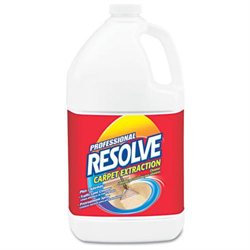 Professional RESOLVE Carpet Extraction Cleaner, 1 gal Bottle