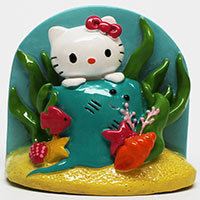 Hello Kitty Stingray Aquatic Ornament, 2.5
