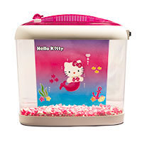 Hello Kitty 1 Gallon Betta Tank, 10.75