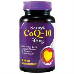 CoEnzyme Q10 50mg by Natrol - 45 Capsules