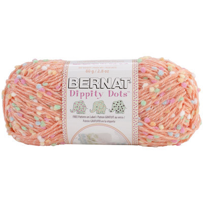 Dummy Spinrite Dippity Dots Yarn Peach