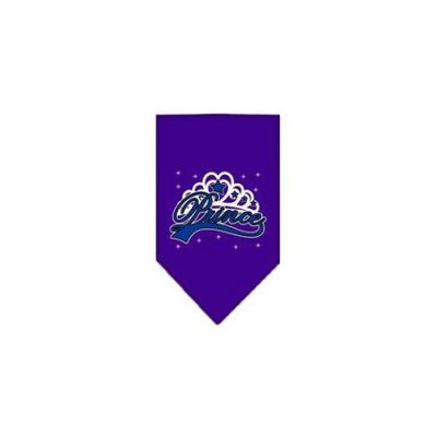 Ahi I'm a Prince Screen Print Bandana Purple Small