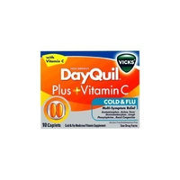 Vicks DayQuil plus Vitamin C Caplets-10 ct