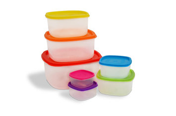 Ragalta 14-pc. Storage Set with Colored Lids