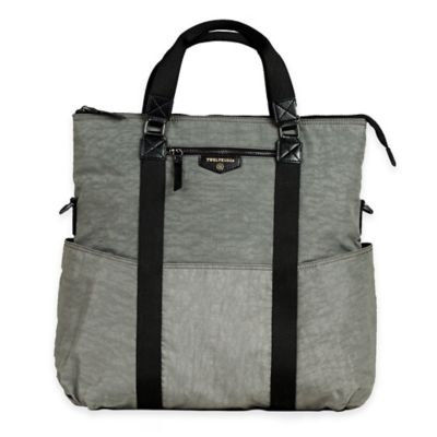 TWELVElittle Unisex Courage 3-in-1 Tote Diaper Bag - Grey