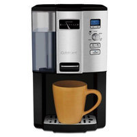 Cuisinart DCC3000 12-cup Programmable Coffeemaker + Gold Tone Basket Coffee Filt