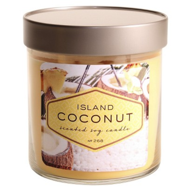 Illume Candles Large Island Coconut