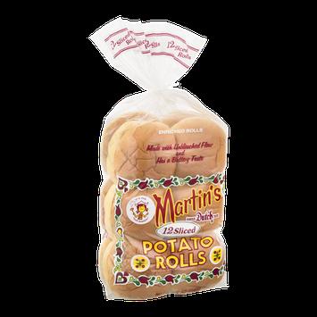 Martin's Sliced Potato Rolls - 12 CT
