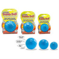 Pet Qwerks, Inc. Pet Qwerks Medium Assorted Colors Talking Babble Ball
