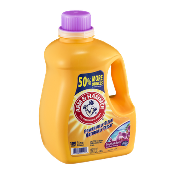 Arm & Hammer 2x Ultra Detergent Tropical Burst - 100 Loads