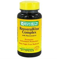 Good 'N Natural - ResveraWine Complex Natural Source of Resveratrol - 60 Capsules