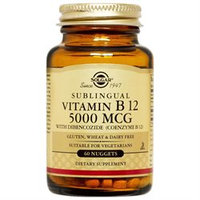Solgar - Megasorb Vitamin B12 Sublingual 5000 mcg. - 60 Nuggets