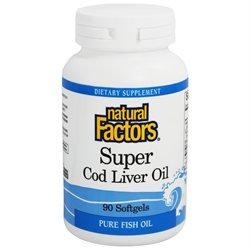 Super Cod Liver Oil 90 Softgels by Natural Factors