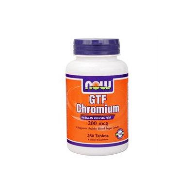 NOW Foods - GTF Chromium Yeast-Free 200 mcg. - 250 Tablets