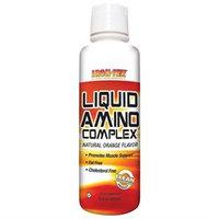 Iron Tek - Essential Liquid Amino Complex Natural Orange - 16 oz.
