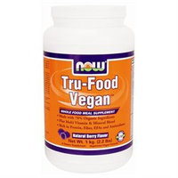 NOW Foods Tru-Food Vegan, Natural Berry, 2.2 lb