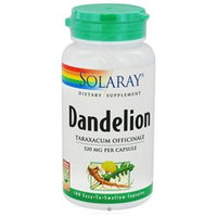 Solaray - Dandelion Root 520 mg. - 100 Capsules