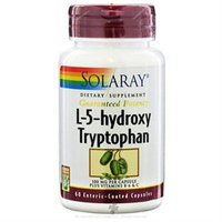 Solaray L-5-hydroxy Tryptophan - 100 mg - 60 Capsules
