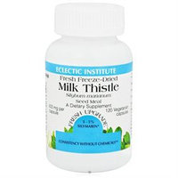 Eclectic Institute Milk Thistle - 600 mg - 120 Vegetarian Capsules