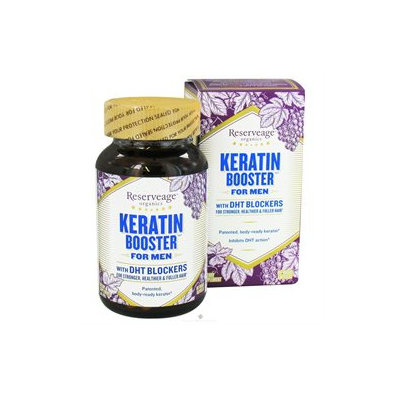 ReserveAge Organics - Keratin Booster for Men - 60 Vegetarian Capsules