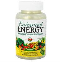 Kal - Enhanced Energy Whole Food Multivitamin - 90 Vegetarian Capsules