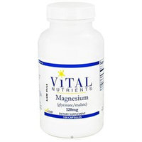 Vital Nutrient's Vital Nutrients - Magnesium Glycinate/Malate 120 mg. - 100 Capsules
