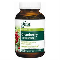 Gaia Herbs Cranberry Concentrate - 60 Vegetarian Liquid Phyto-caps
