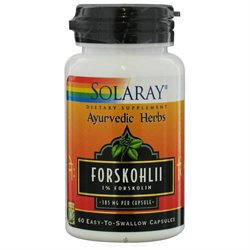 Solaray Forskohlii 385 MG - 60 Capsules - Other Herbs