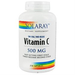 Solaray Vitamin C (Two-Stage, Timed-Release)